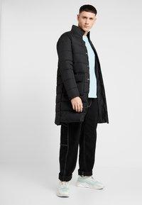 New Look - LONGLINE PUFFER  - Winter coat - black - 1