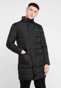 New Look - LONGLINE PUFFER  - Winter coat - black - 0