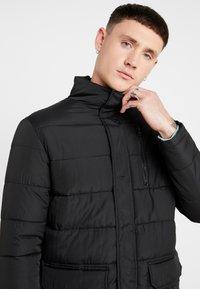 New Look - LONGLINE PUFFER  - Winter coat - black - 3