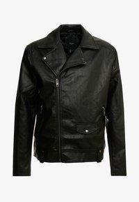 New Look - BIKER - Bunda zumělé kůže - black - 4