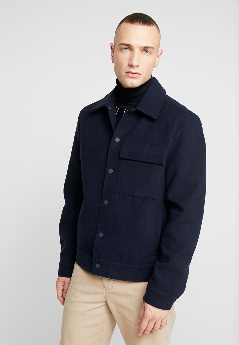 New Look - SHACKET - Lett jakke - navy