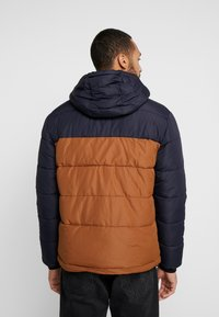 New Look - COLOUR BLOCK PUFFER - Winter jacket - navy - 2