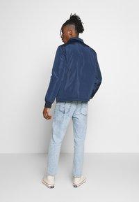New Look - PADDED COACH JACKET - Light jacket - navy - 2