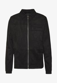 New Look - UTLITY - Faux leather jacket - black - 4