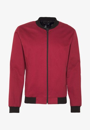ENTRY - Chaquetas bomber - dark burgundy