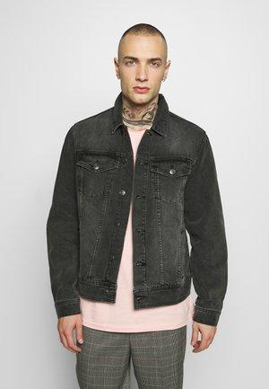 JACKET - Denim jacket - mid grey