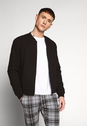 ENTRY BOMBER - Giubbotto Bomber - black