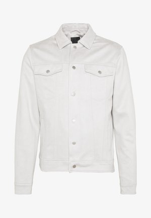 SUEDETTE TRUCKER - Summer jacket - light grey