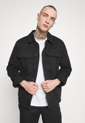 UTLITY  - Denim jacket - black