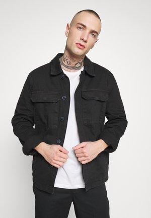 UTLITY  - Denim jacket - black