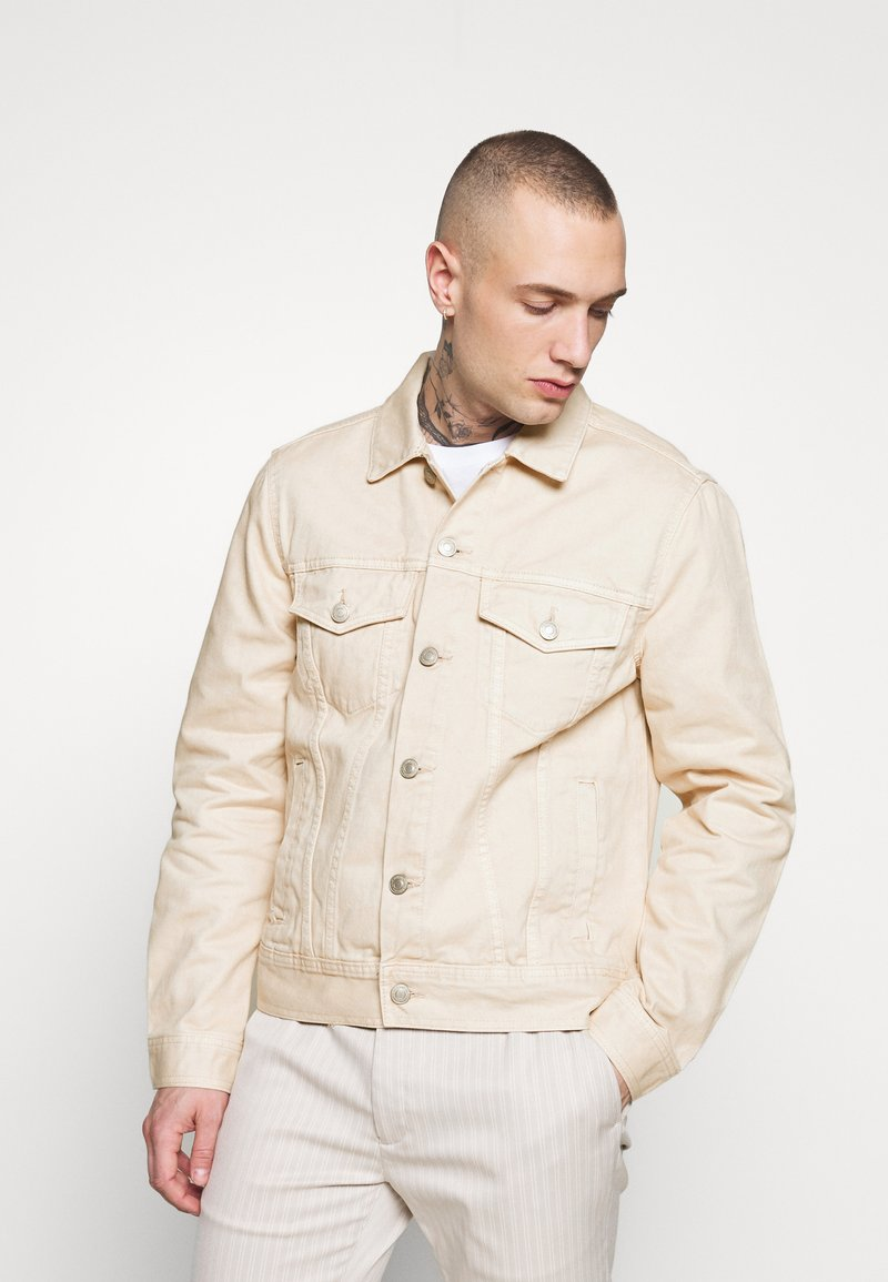 New Look - JACKET - Denim jacket - off white