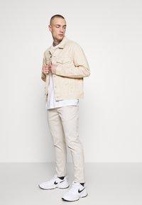 New Look - JACKET - Denim jacket - off white - 1