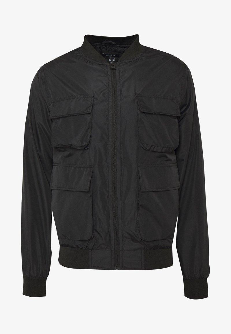 New Look - HAIDEN UTILITY  - Leichte Jacke - black