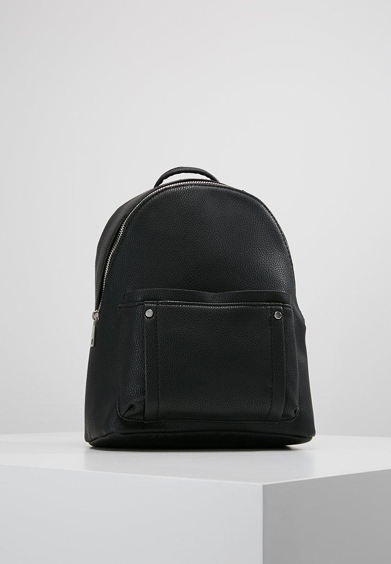 New Look - DAHLIA ZIP POCKET MINI CURVE - Zaino - black