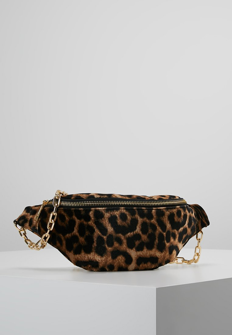 New Look - LIBBY LEOPARD BUMBAG - Bum bag - brown