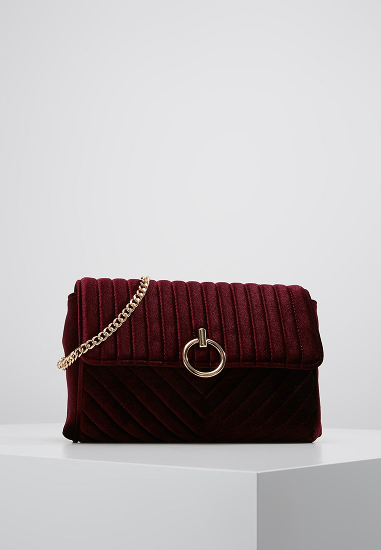 New Look - VERITY CHAIN SHOULDER - Borsa a tracolla - dark burgundy