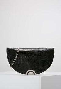 New Look - HAYLEY HALF MOON CLUTCH - Clutch - black - 0