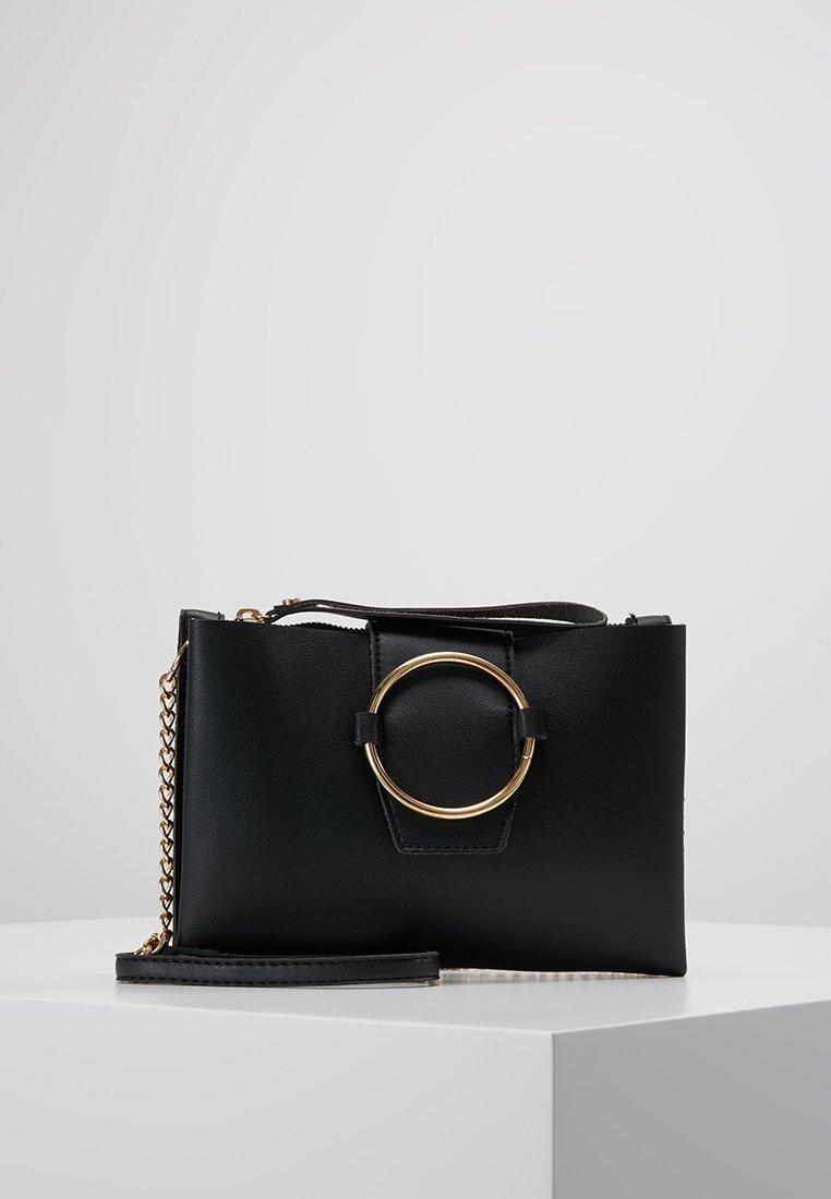 New Look - ROBERTA RING DETAIL - Taška spříčným popruhem - black