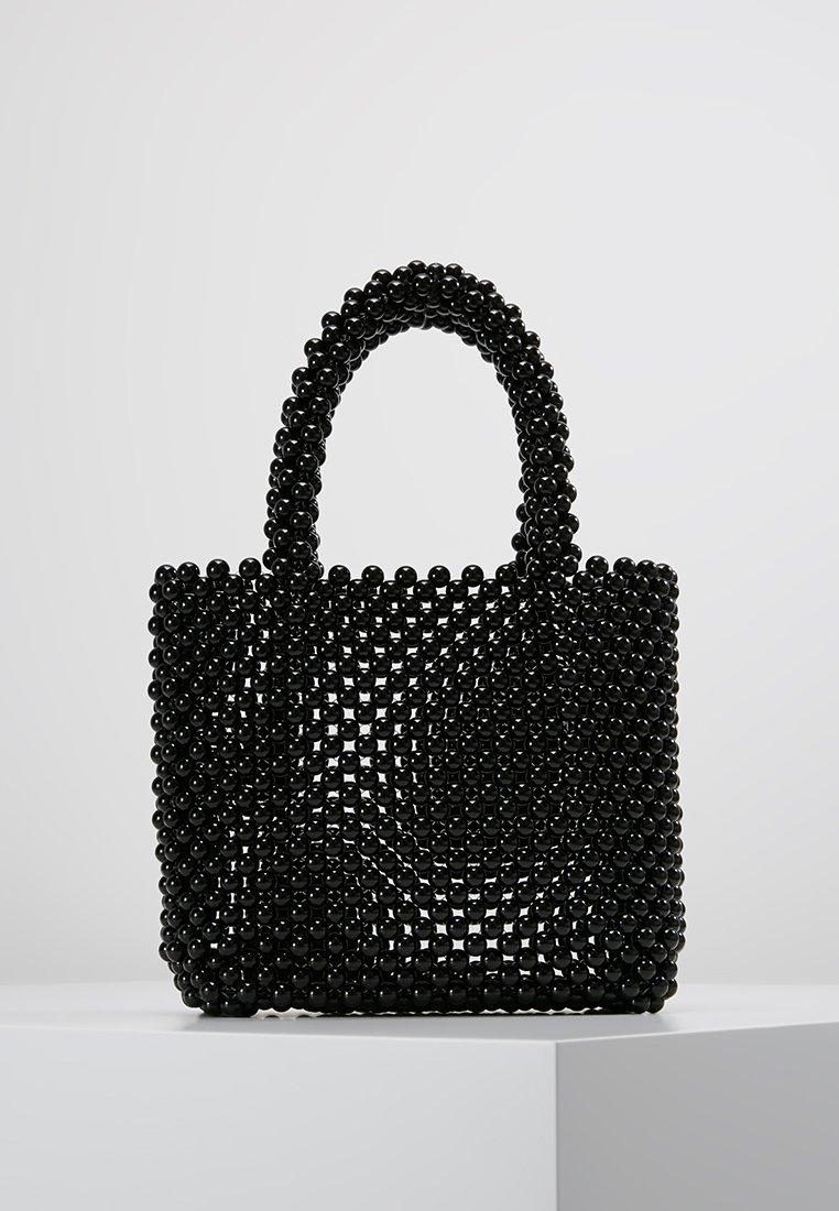 New Look - BETTY BEADED GRAB BAG - Handtasche - black