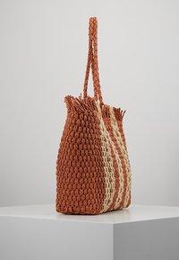 New Look - CUBA STRIPEY TOTE - Shopping bag - orange - 3