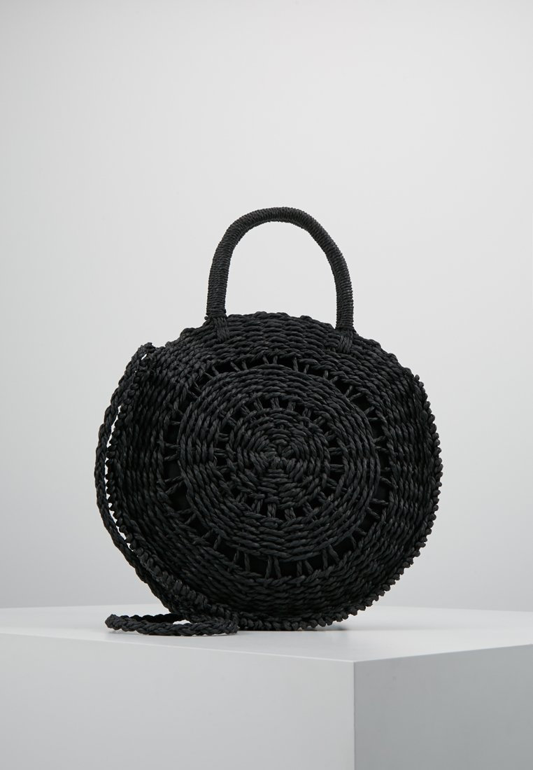 New Look - DELI ROUND WEAVE - Käsilaukku - black
