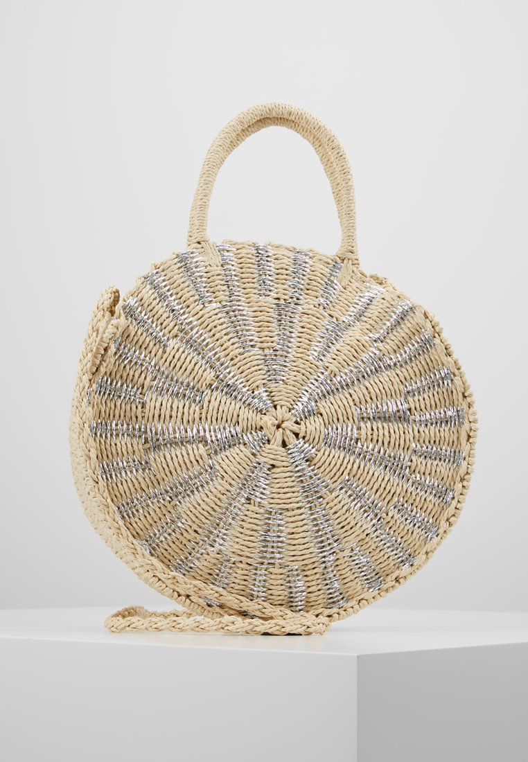 New Look - BALI ROUND - Handbag - silver