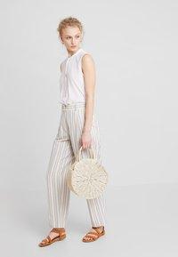 New Look - BALI ROUND - Handbag - silver - 1