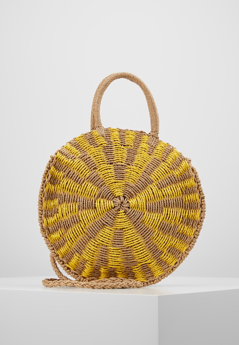 New Look - BALI ROUND - Sac à main - bright yellow