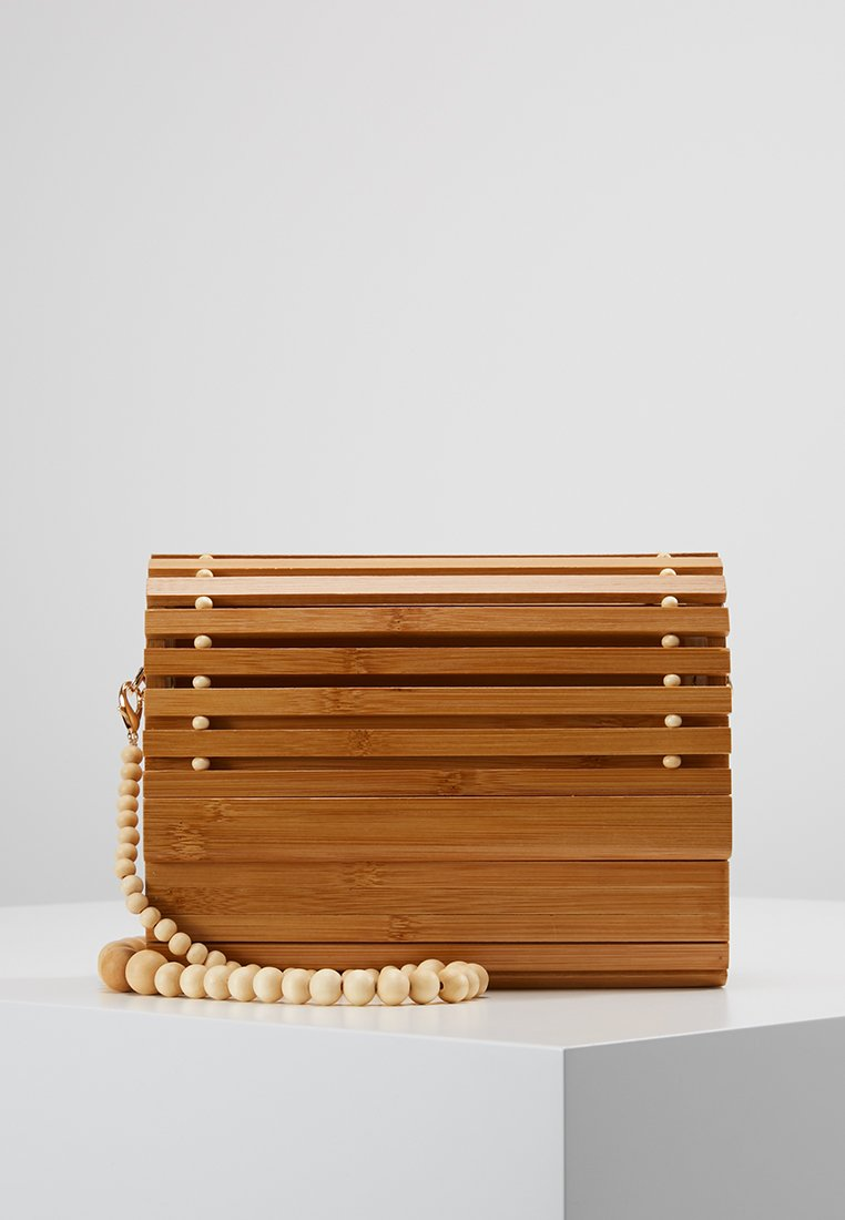 New Look - SLATTED BAG - Handbag - stone