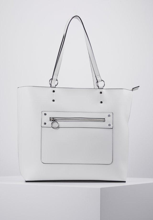 TORI UNLINED TOTE - Shopping Bag - white