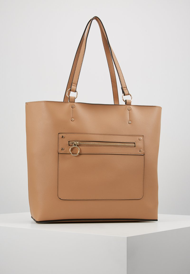 New Look - TORI UNLINED TOTE - Tote bag - camel