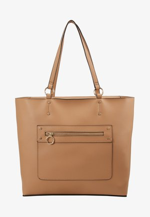 TORI UNLINED TOTE - Tote bag - camel