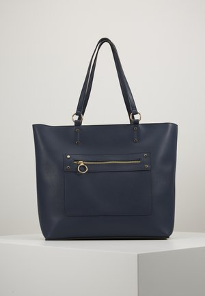 TORI UNLINED TOTE - Shopper - navy