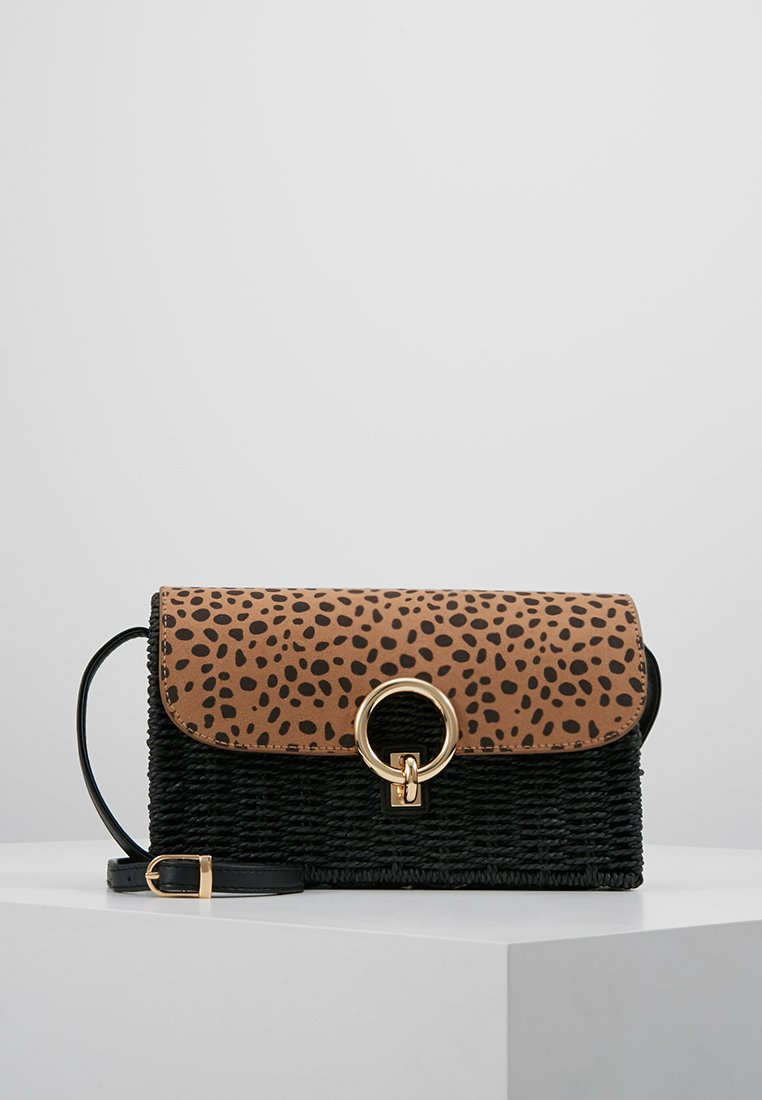 New Look - FLAP - Borsa a tracolla - brown pattern