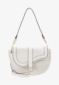 New Look - SHARNI SADDLE BAG - Sac à main - white - 5