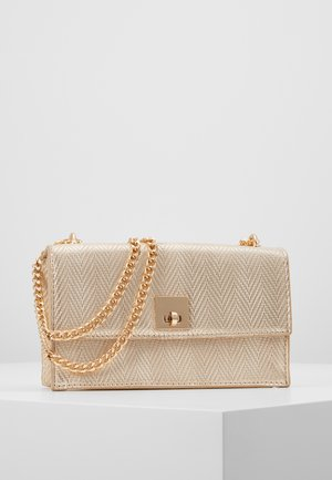 CHEEKY CHARM CHAIN SHOULDER - Sac bandoulière - stone