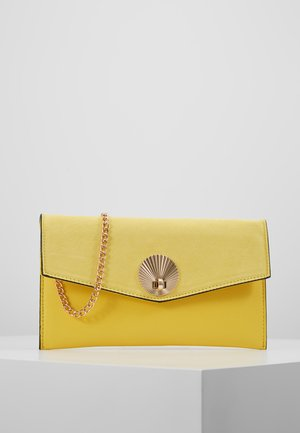 SULLY SHELL - Clutch - bright yellow