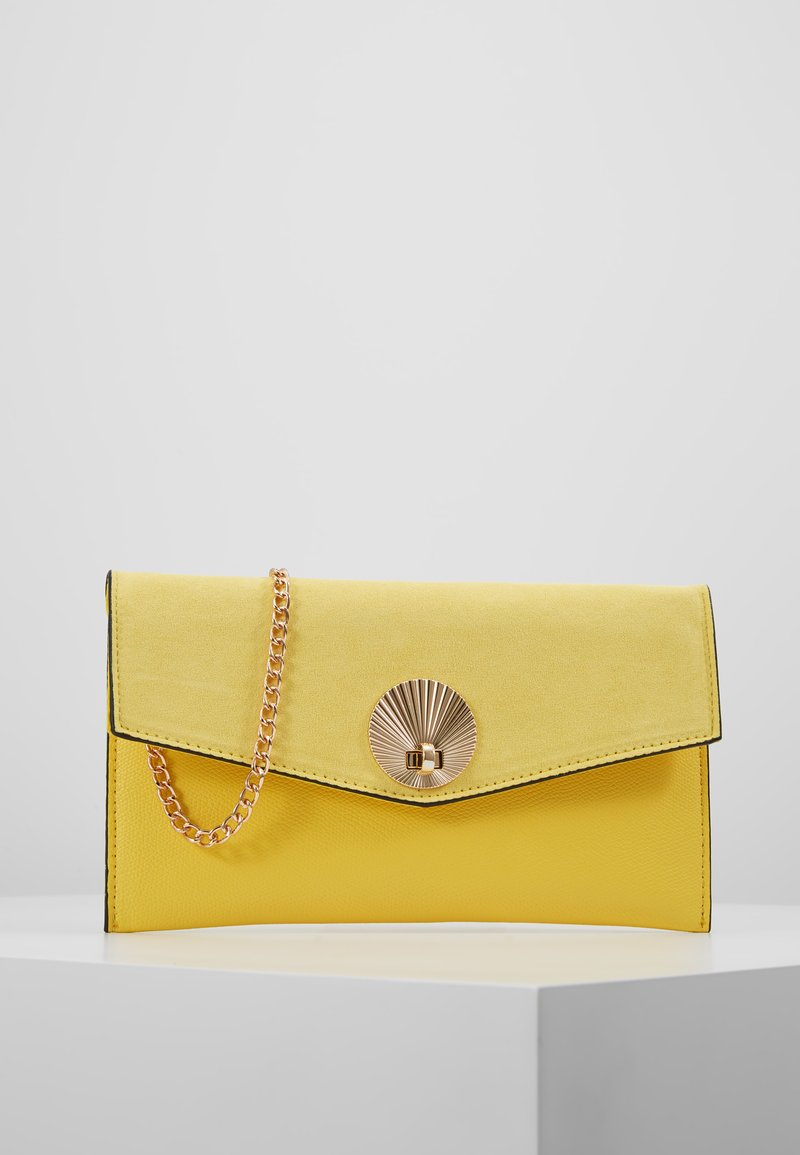 New Look - SULLY SHELL - Clutch - bright yellow