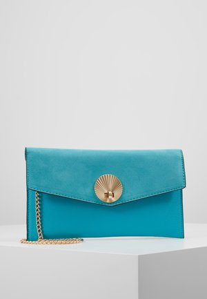 SULLY SHELL - Clutch - turquoise