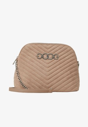 KAYLA QUILTED KETTLE BODY - Schoudertas - oatmeal