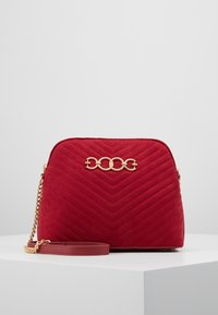 New Look - KAYLA QUILTED KETTLE X BODY - Borsa a tracolla - bright red - 0