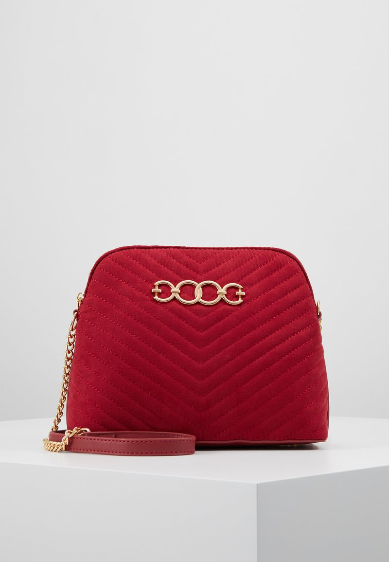 New Look - KAYLA QUILTED KETTLE X BODY - Across body bag - bright red
