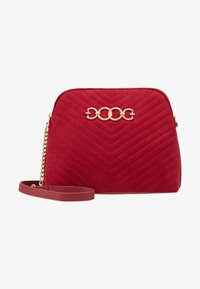 New Look - KAYLA QUILTED KETTLE X BODY - Borsa a tracolla - bright red - 5