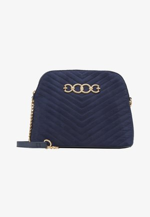 KAYLA QUILTED KETTLE BODY - Schoudertas - navy