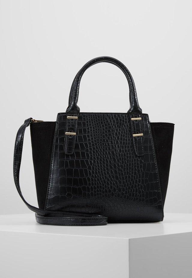 MARLEY CROC TOTE - Handbag - black