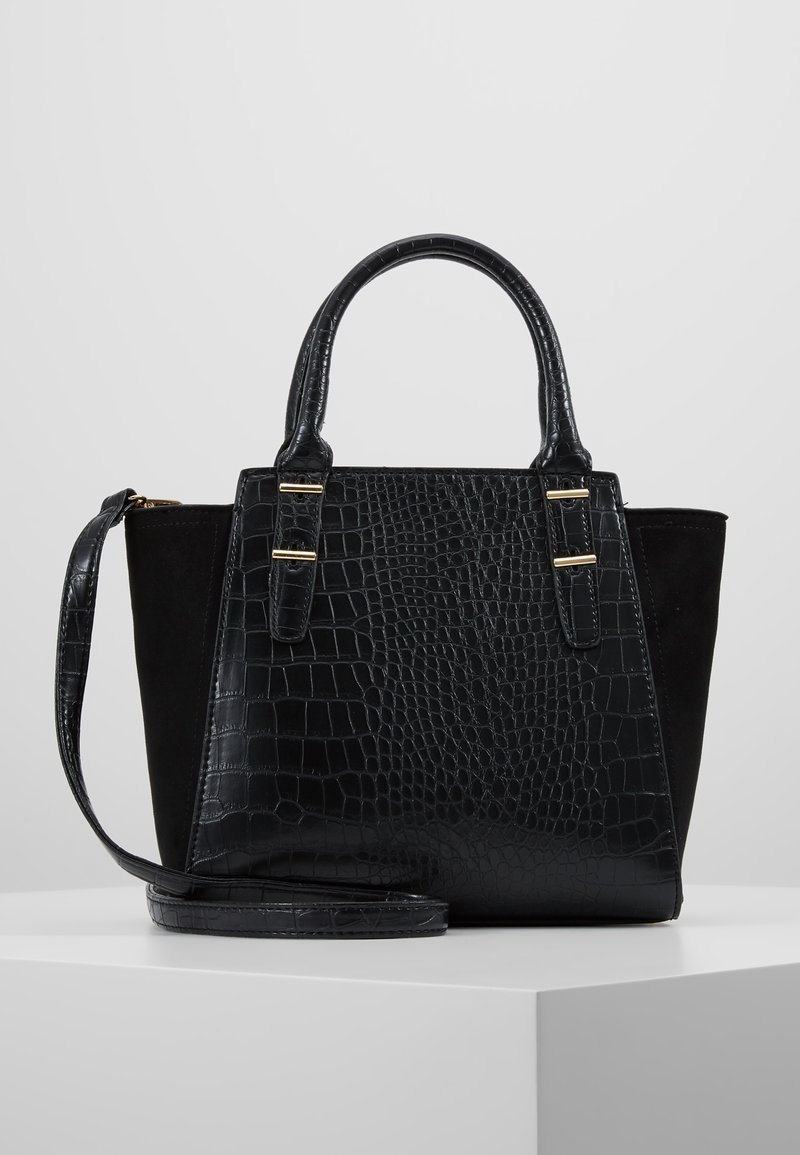 New Look - MARLEY CROC - Torebka - black