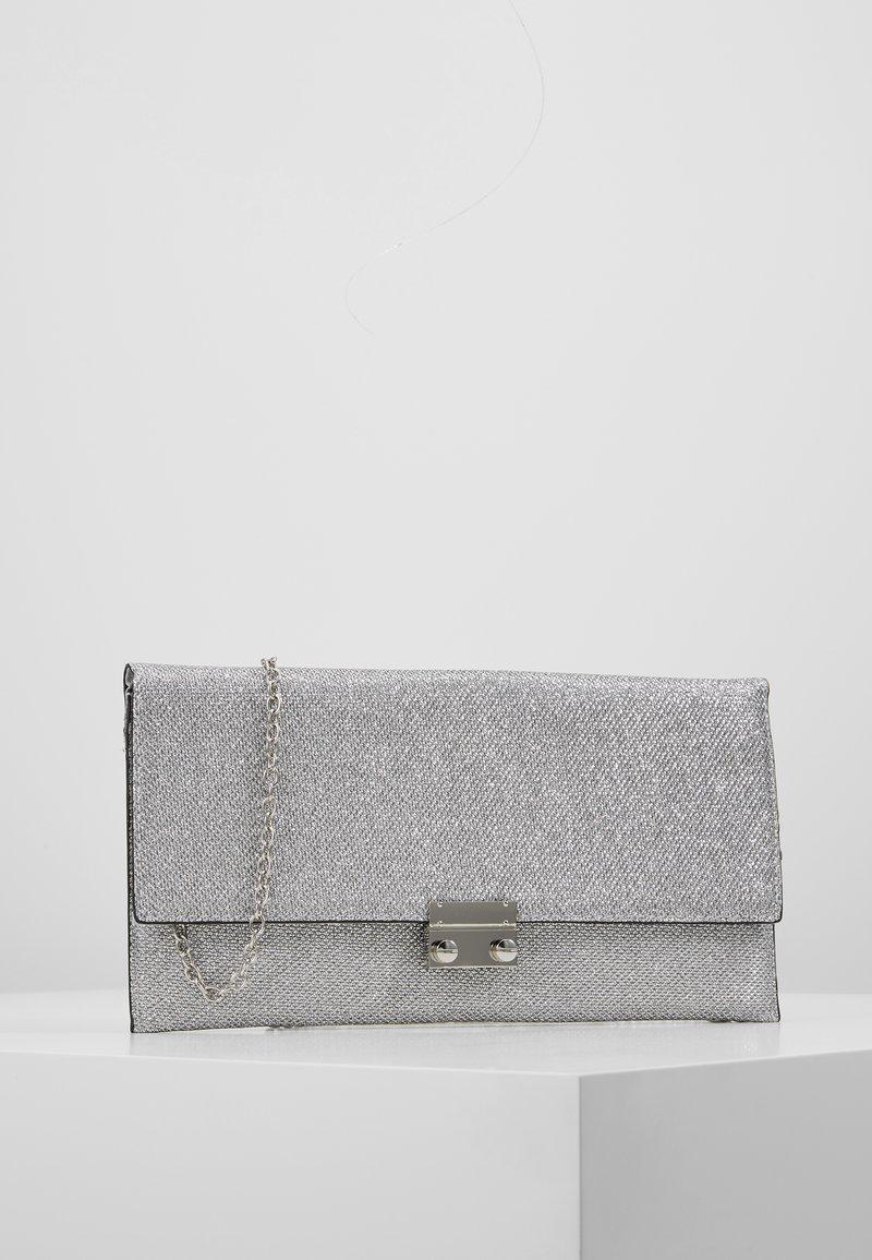 New Look - MIRRI GLITTER - Kuvertväska - silver