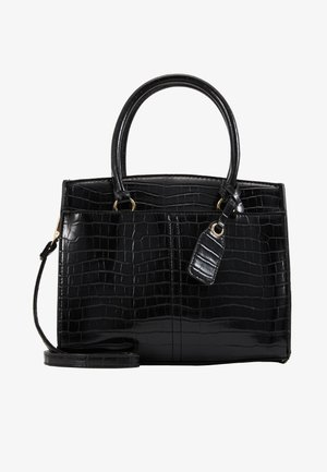 CAMDEN CROC TOTE - Handtasche - black