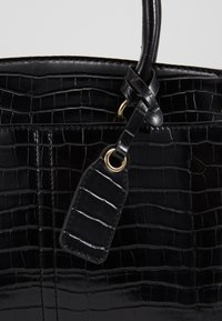 New Look - CAMDEN CROC TOTE - Handbag - black - 2