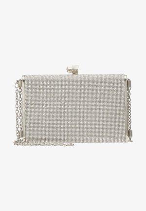 DIANA - DIAMONTE BOX CLUTCH - Clutch - silver